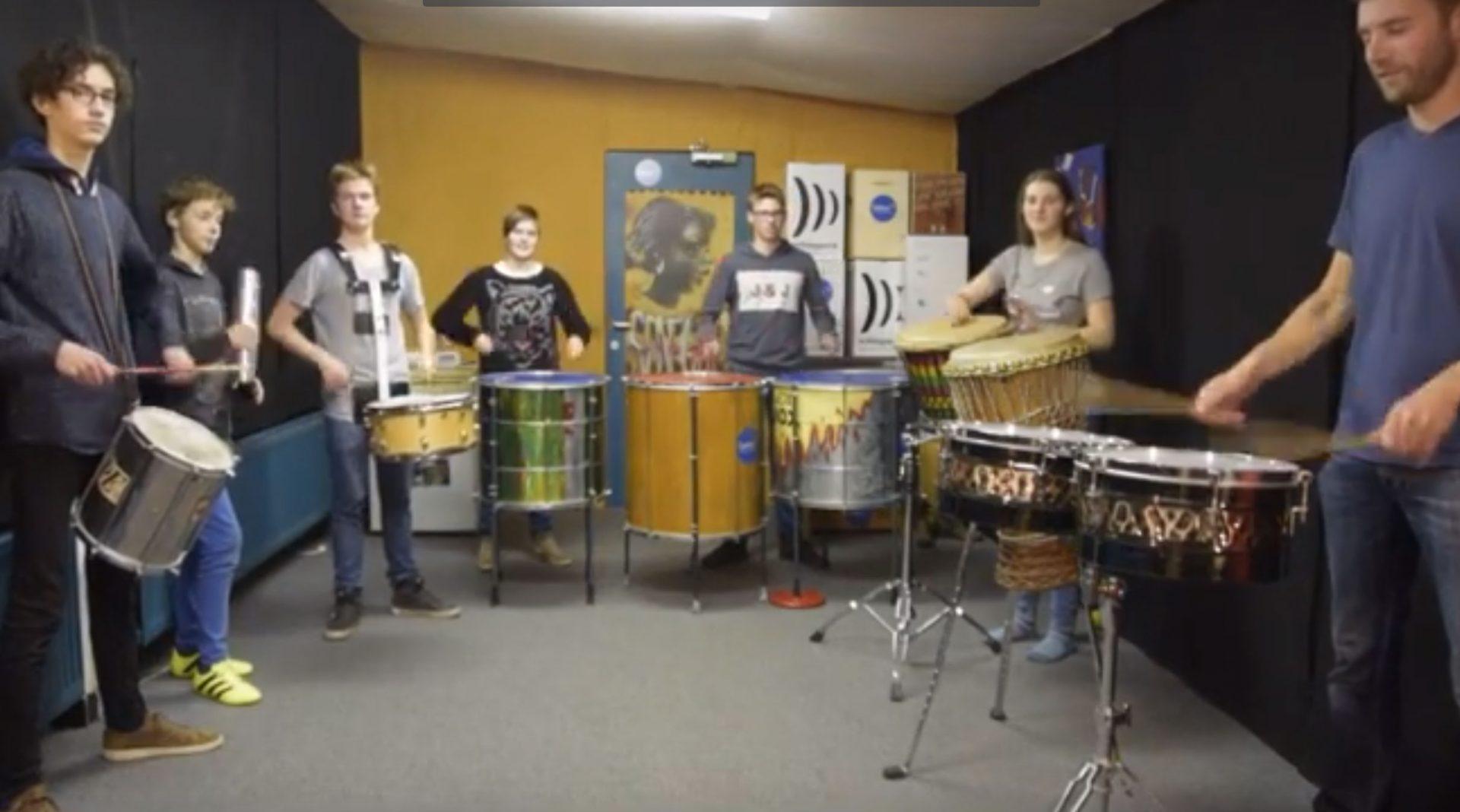 Percussie les voor kinderen (7-12 jaar) 3