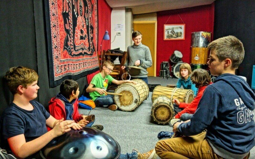 Percussie les voor kinderen (7-12 jaar) 1