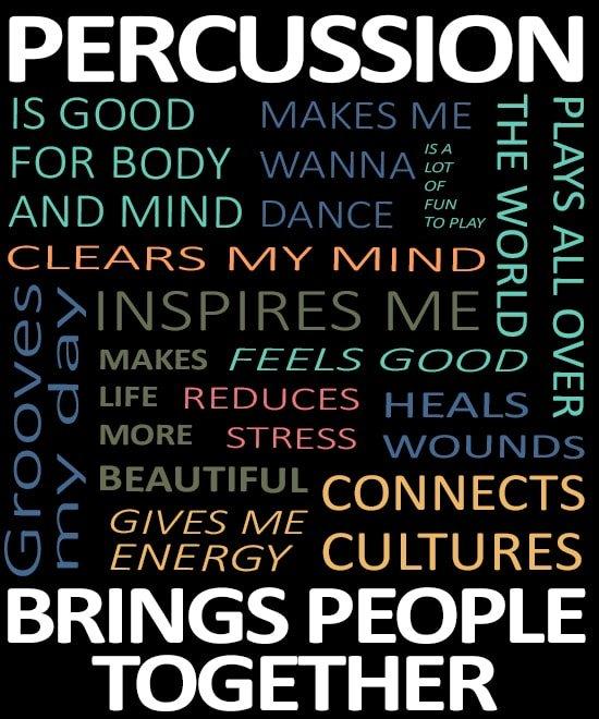 percussie brengt mensen samen