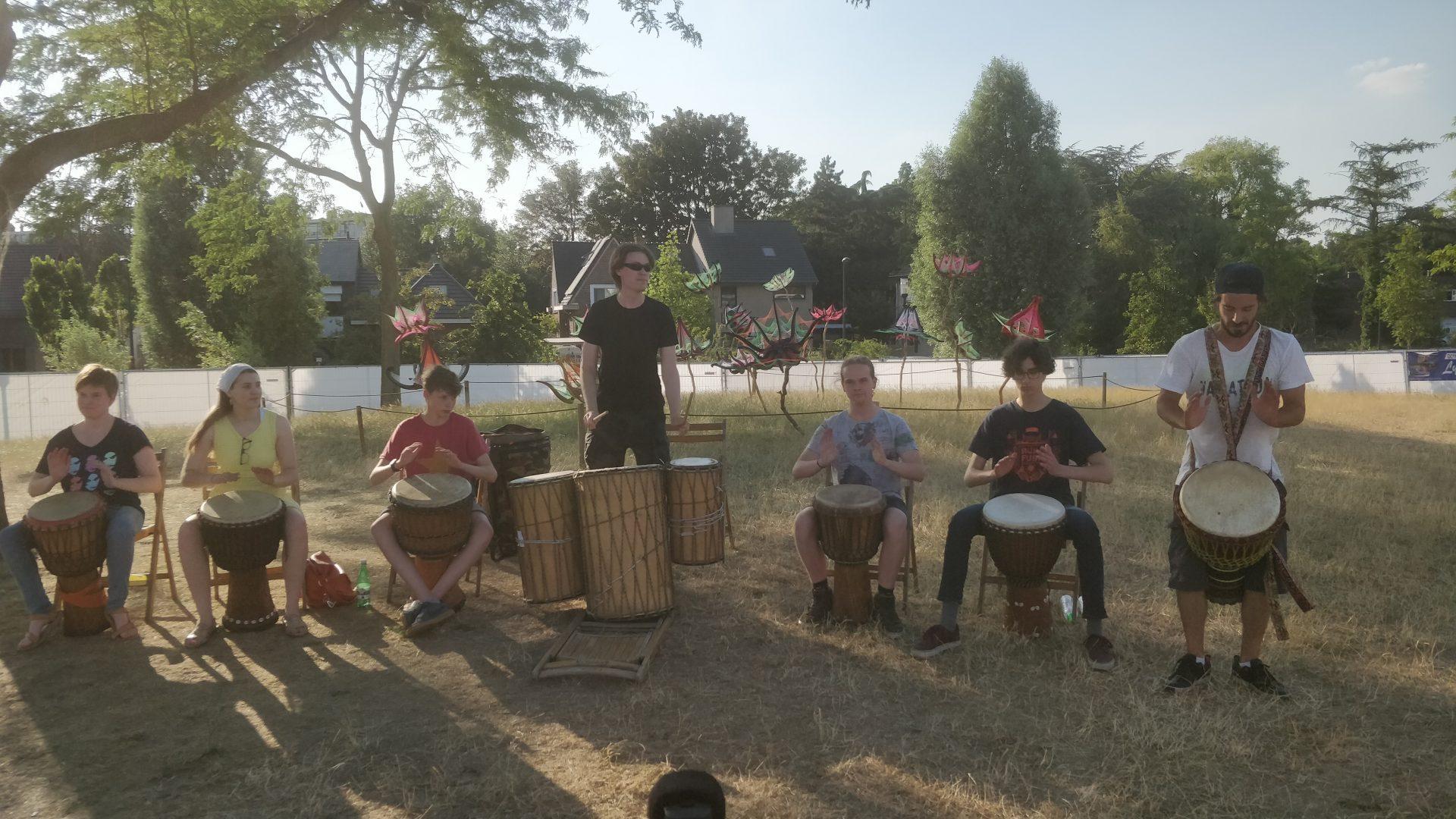Percussie les voor kinderen (7-12 jaar) 2