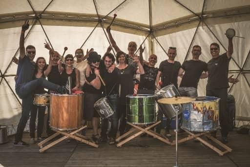 percussie en ritme uit brazilie