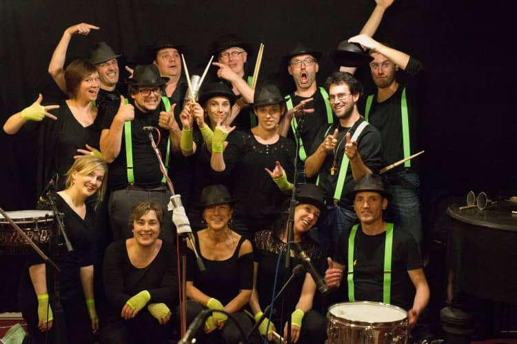 samba percussie workshop